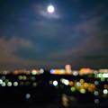 オリンピック 開幕の夜空