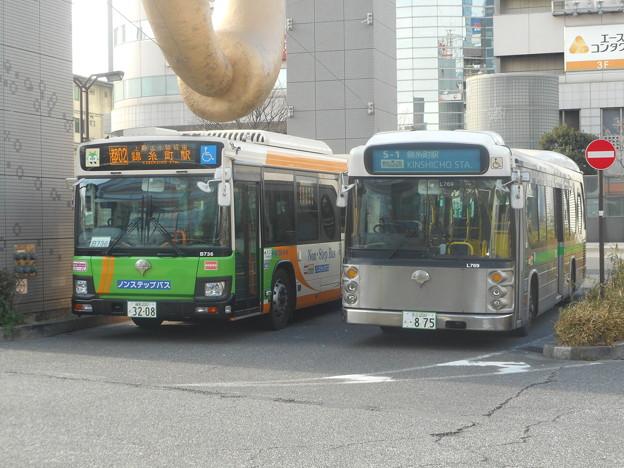 #8080 都営バスP-B736・K-L769 2019-1-8