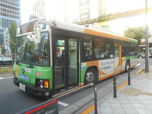 #8093 都営バスP-M186 2018-10-2