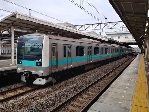 #8094 常磐緩行線E233系2000番台 東マト7F 2021-3-6