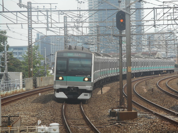 #8113 常磐緩行線E233系2000番台 東マト6F 2018-9-1