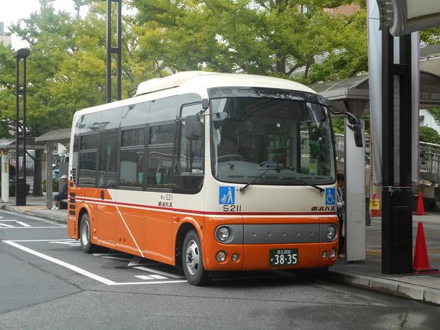 #8114 東武バスC#5211 2018-9-14