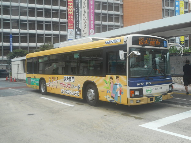 #8120 京王バス東D21504 2018-9-1