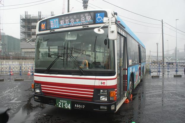 #8151 小田急バス11-A9317 2018-9-15