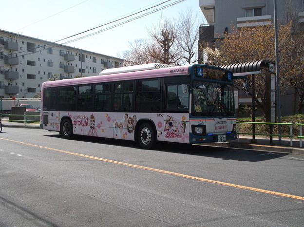 #8153 京成バスC#8153 2021-3-17