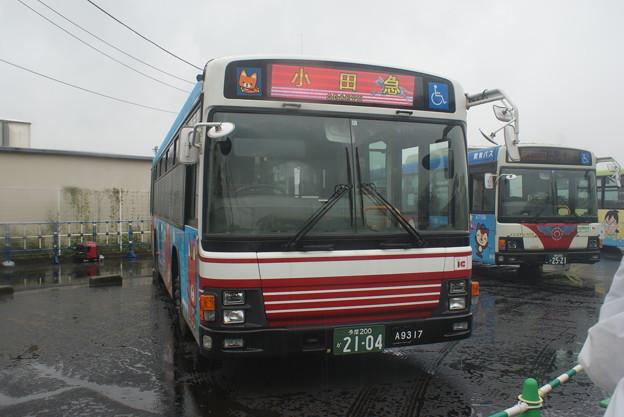 #8158 小田急バス11-A9317 2018-9-15