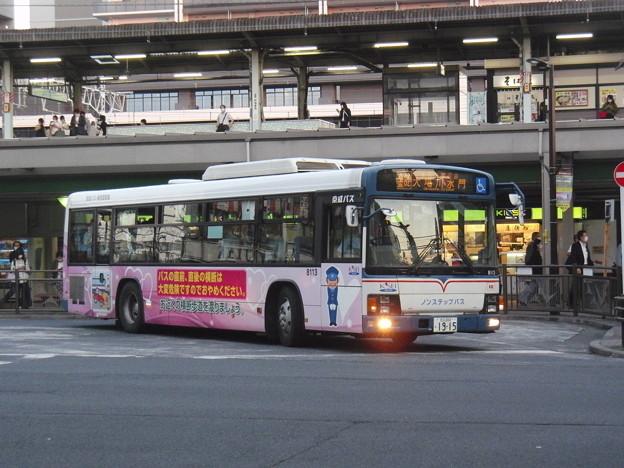 #8799 京成バスC#8113 2021-6-9