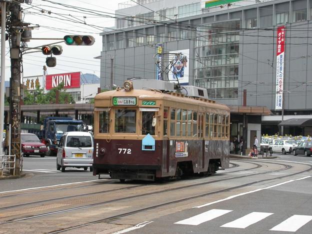 #9041 広島電鉄C#772 2003-8-27