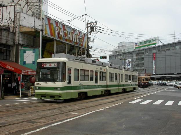 #9042 広島電鉄3901F・C#772 2003-8-27