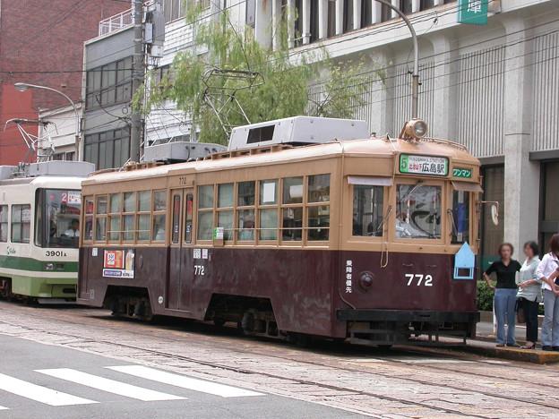 Photos: #9044 広島電鉄C#772 2003-8-27