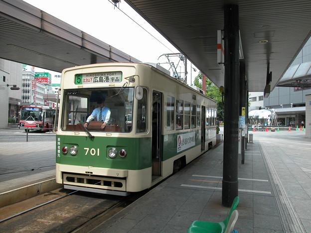Photos: #9046 広島電鉄C#701 2003-8-27