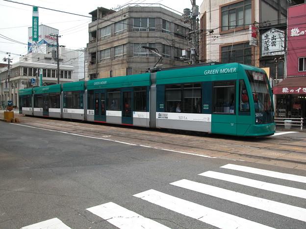 #9049 広島電鉄5011F 2003-8-27