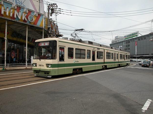 #9050 広島電鉄3803F 2003-8-27