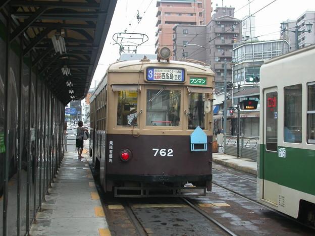 #9067 広島電鉄C#762 2003-8-28