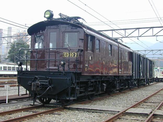 #9163 旧国鉄ED10 2+貨車 2002-10-19