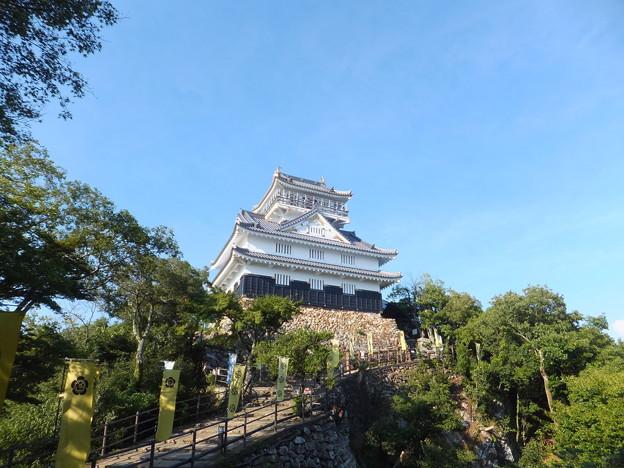 岐阜城までハイキング