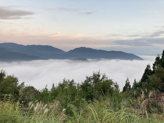 立雲峡から竹田城跡2