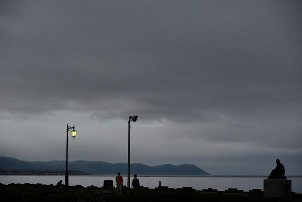 Photos: 朝の啄木小公園