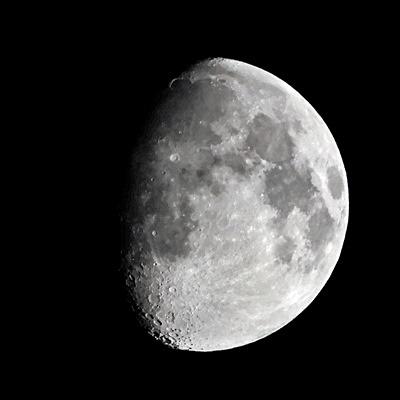 Photos: 十一夜の月 210522