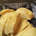 Photos: 卵豆腐1つ  卵2個  塩  卵豆腐のタレ