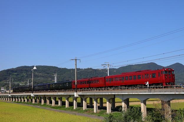 観光列車連結