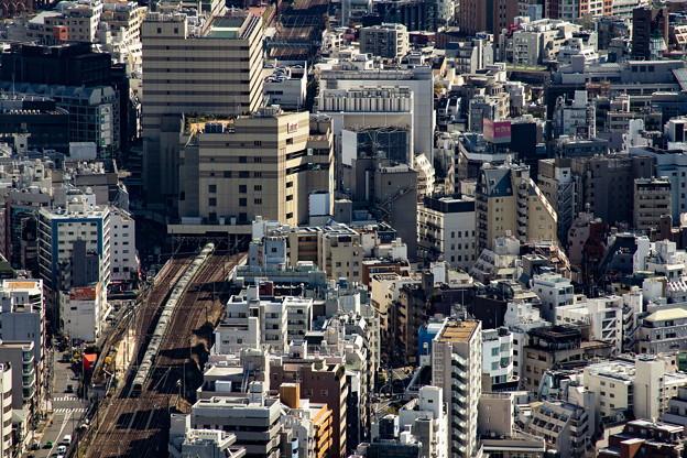 Photos: 恵比寿を出る湘南新宿ライン