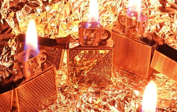 zippoに火をつけて、黄金のハートを探せ
