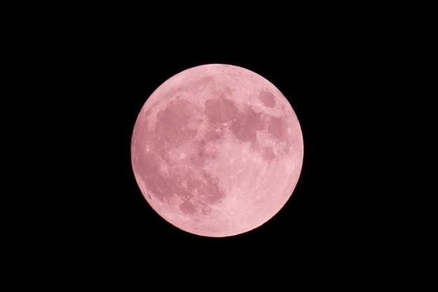 ストロベリームーン  6月の満月