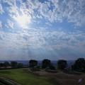 大乗寺丘陵公園から秋空