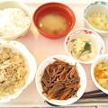 2月25日昼食(豚肉の生姜焼き) #病院食