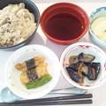 Photos: 2月26日昼食(肉うどん) #病院食