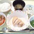 Photos: 2月27日夕食(鶏肉のソテーガリバタソース) #病院食
