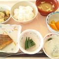 2月28日昼食(めばるのバター醤油焼き) #病院食