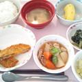 3月1日昼食(いわしフライ) #病院食