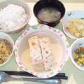3月1日夕食(豆腐ローフ) #病院食
