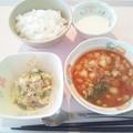 Photos: 3月2日朝食(ミネストローネ) #病院食