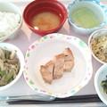 Photos: 3月2日昼食(鶏の梅焼き) #病院食