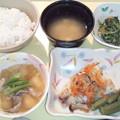 Photos: 3月2日夕食(赤魚の香り蒸し) #病院食