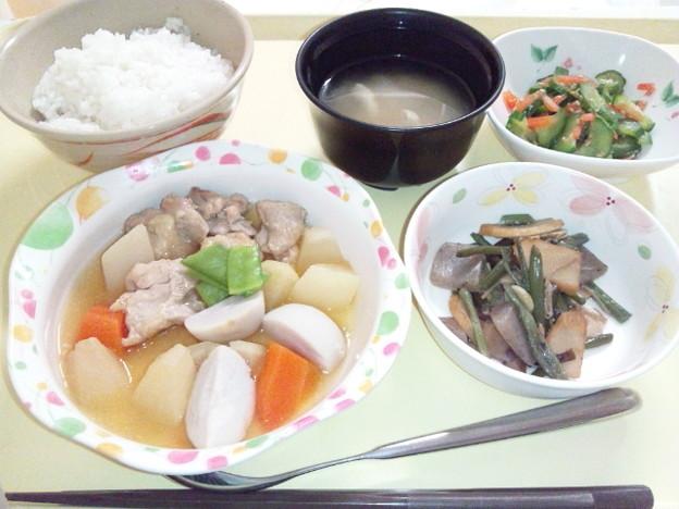 Photos: 3月3日夕食(吉野煮) #病院食