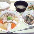 3月3日夕食(吉野煮) #病院食