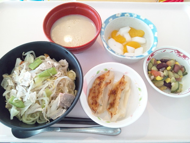 3月4日昼食(ちゃんぽん麺) #病院食