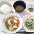 3月5日朝食(厚揚げの煮物) #病院食