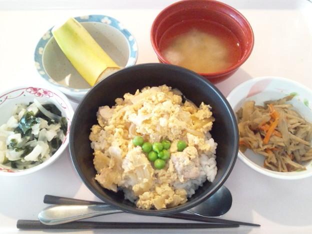 3月8日昼食(親子丼) #病院食