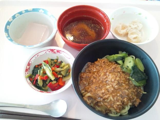 3月24日昼食(担々麺) #病院食