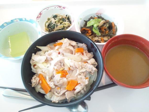 3月29日昼食(カレーうどん) #病院食
