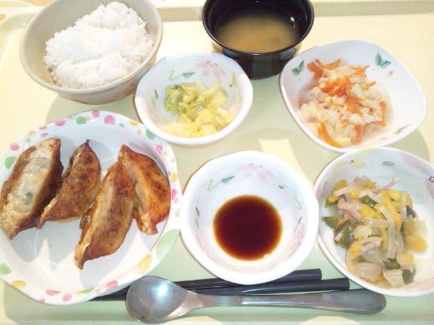 4月1日夕食(揚げ餃子) #病院食