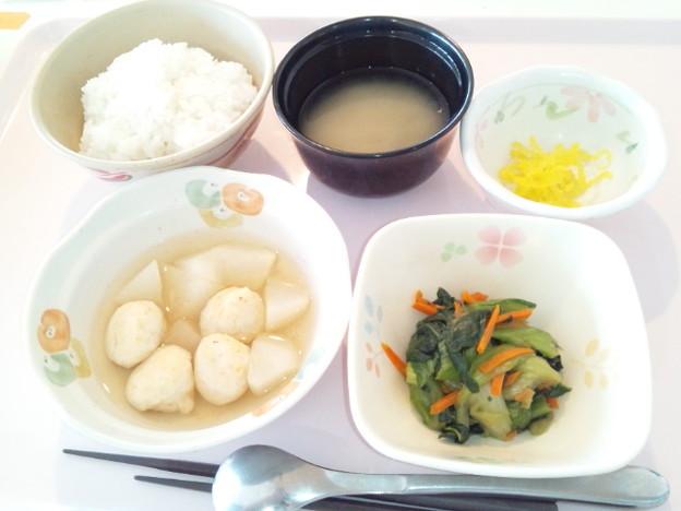 4月2日朝食(しんじょの煮物) #病院食