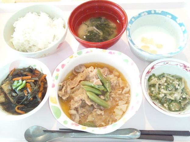 4月2日昼食(豚肉のみぞれ煮) #病院食