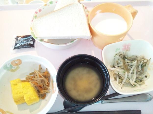 4月5日朝食(厚焼き玉子) #病院食