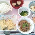 4月18日昼食(千草焼き) #病院食